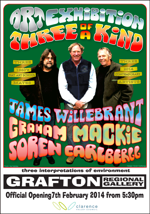 3 of a kind Grafton poster